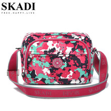 SKADI Brand Design Women Camouflage Messenger Bags for Female Ladies Casual Cross Body Bags Animal Print Women Shoulder Bags
