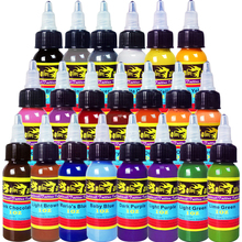 Solong Tattoo Ink 21 Colors Set 1oz 30ml/Bottle Tattoo Pigment Kit TI301-30-21(China)