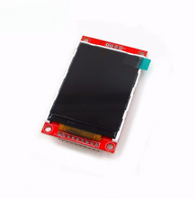 "Free shipping! New 2.2"" Serial SPI TFT Color LCD Module Display 240X320 w/ PCB Adpater(China)"