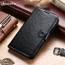 Buy AKABEILA Case Doogee Homtom HT16 5.0 inch Leather Flip Wallet Cases Card Slot Covers Bags Shell Skin Hood Housing for $6.40 in AliExpress store