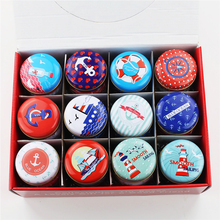New Creative Tin Box Tea Jewelry Candy Box Accessories 36Piece/Lot Small Round Metal Mac Cosmetic Organizer Iron Case