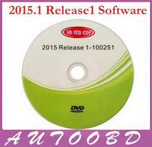 New !!! 2015.1 R1 Software CD/Disk/DVD Free Activated for CDP Accessories TCS CDP Scanner Parts Multi-function for Cars Trucks(China)