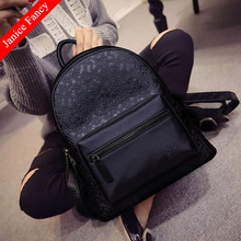 Clearance Sale Chinese Vintage Designer Preppy Style Embossed Mochila Mujer Bolsa Hombre Travel School Bags Backpacks 32*28*14cm(China)