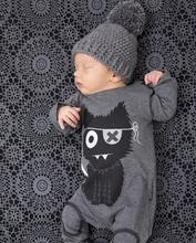 Buy Character Clothing Sets Rompers Baby Boy Clothing Cotton Newborn Baby Girl Clothes Long Sleeve Cartoon Infant Newborn Jumpsuit for $6.62 in AliExpress store