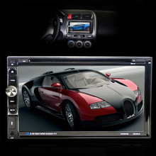2 DIN Car Audio Stereo DVD Player GPS Navigation Touch Screen Car MP5 Player Support Bluetooth CD USB FM Radio Rearview Camera