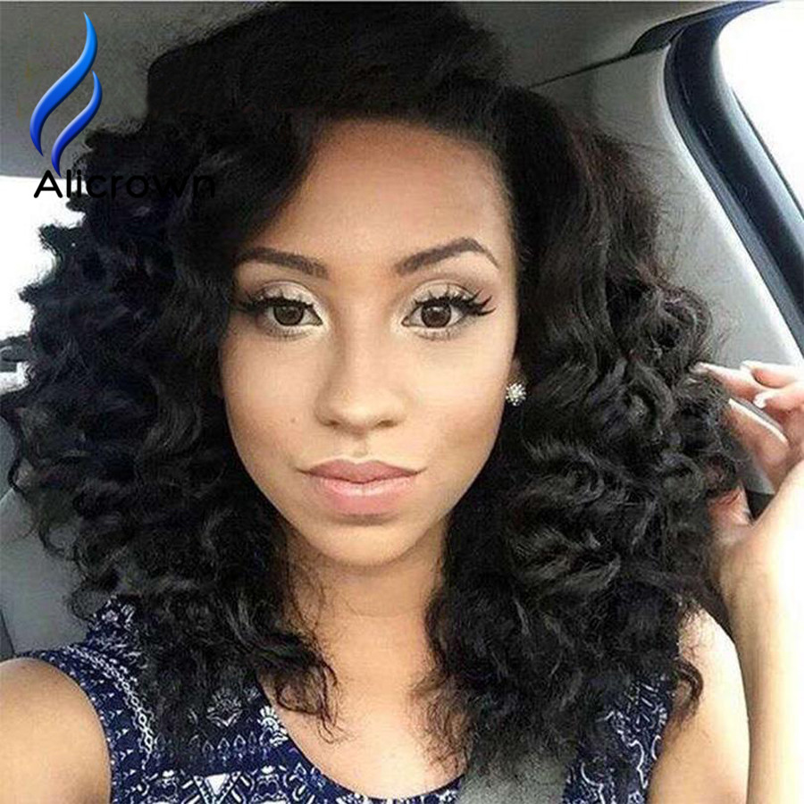 Brazilian U Partg Short Hair Wigs For Black Women U Part Wig Human Hair Curly Virgin Brazilian Hair U Part Bob Wig On Sale<br><br>Aliexpress