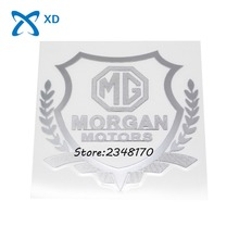 Car-styling Side sticker Car body Badge Decal Decorate Llogo Emblem 80*90mm for MORGAN MORRIS GARAGE MG MG3 4-4 Plus4 Plus8 Aero(China)
