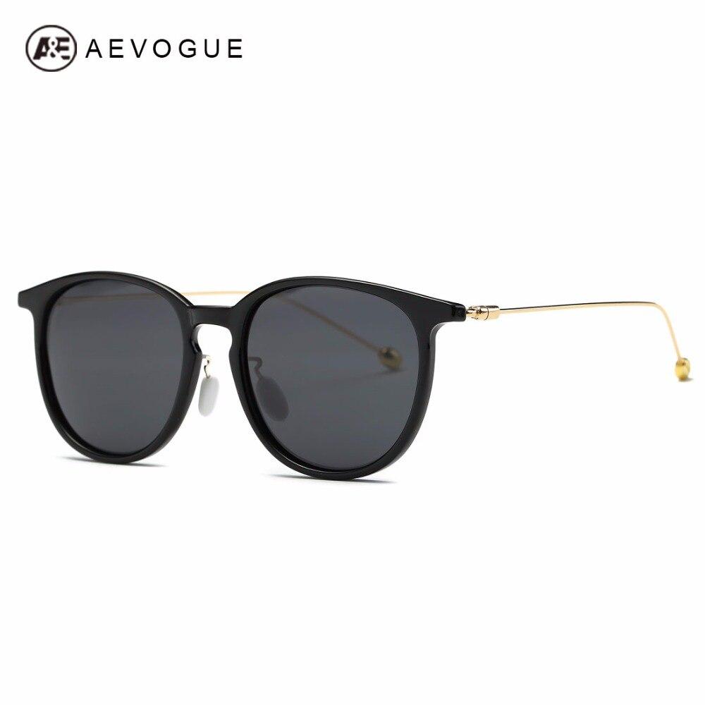AEVOGUE Polarized Sunglasses Women Brand Designer Polaroid Lens Acetate Frame Metal Temple Sun Glasses With Box UV400 AE0494<br><br>Aliexpress