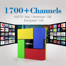 T95Kpro Android 6.0 TV Box 2G 16G Amlogic S912 Octa Core 4K x 2K H.265 Dual Band WiFi with Europe ITPV Channels French Italy UK
