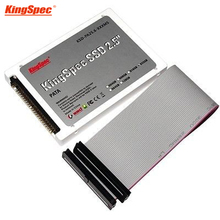 "Kingspec plastic 2.5"" PATA 44pin ide SSD 64GB MLC Flash 4-Channel Solid State Disk for Notebook Desktop HDD Hard Drive IDE 60GB(China)"