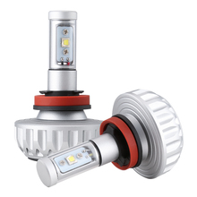 LED Car Headlight LED Lamp DIY 5 Color Films H4 H7 LED Car Light Bulbs H11 High Power Auto 6500k 8000k Foglight Plug&Play