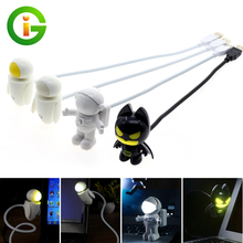 USB LED Night Light Cartoon Shape The Dark Knight Batman /Spaceman / EVE PC Power Bank Power Supply DC 5V Table Lamp