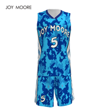 Custom sublimation blank mens basketball jersey professional design stitched shirt breathable basketball uniforms jersey(China)