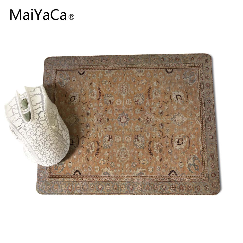 MaiYaCa NEW Customized Supported Fashion Design Cool Persian Rugs Mouse Mats Anti-Slip Rectangle Mouse Pad 250X290 MM 3