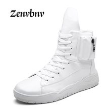 Buy ZENVBNV Hot 2018 Fashion Men Shoes spring Breathable Lace Casual Shoes High side Comfort Light Weight Men Flats 39~44 size for $27.43 in AliExpress store