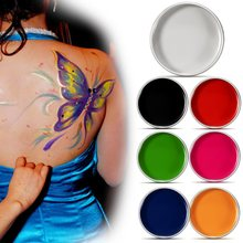 Grease Face Paint Body Makeup Art Painting Drawing Pigment Flash Glow Color Fancy Paint For Party Halloween Fancy Carnival