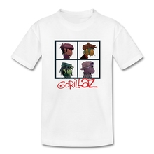 Gorillaz Rock Band T-shirt Kids Rap R&B Hip Hop Kids T Shirts Online