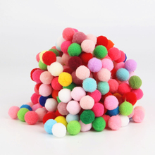 Buy 144 pcs Pompom 15mm Pom pom Multi Color Ball Ribbon Fur Craft DIY Soft Ponpons Wedding Decoration/Sewing Cloth Accessories for $1.27 in AliExpress store
