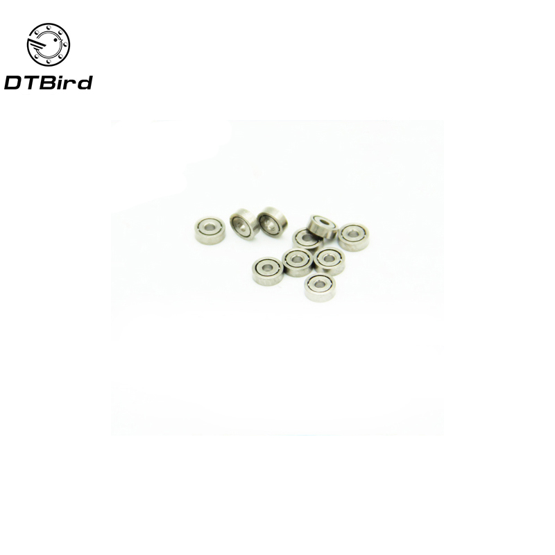 100pcs 681 1*3*1 1x3x1mm Metal Shielded Ball Bearing Bearings