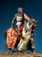 Unpainted Kit  1/ 32 54mm  OWEN GLYNDWR, Prince of Wales. XIV c. 54mm Historical WWII Figure Resin  Kit Free Shipping