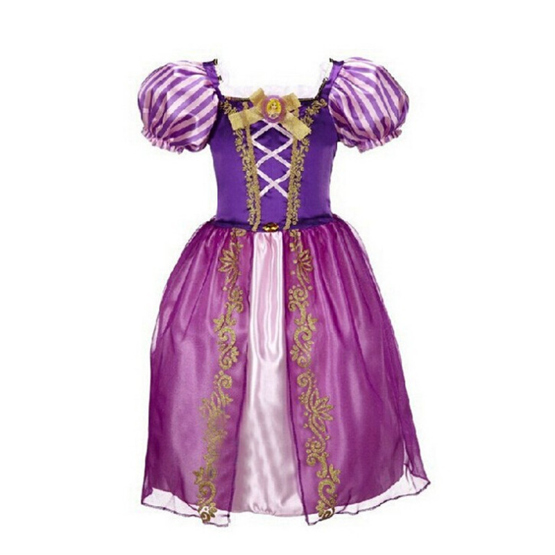 Princess Girl Dress kids Baby Girl Dress Children Clothing anna elsa dress Girls Cosplay Costume fantasia Vestido Infantis<br><br>Aliexpress