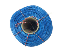 Free Shipping 6MM x 100M UHMWPE Winch Rope Towing Rope For ATV UTV SUV 4X4 4WD OFF-ROAD(China)