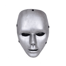 2017 Christmas Gift Airsoft Paintball Face mask  Ghost Trot Silver