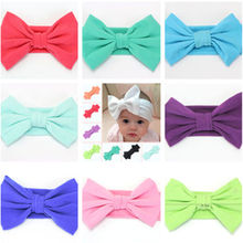 Kids Girls Baby Girls Headband Toddler Bow Flower Hair head Band Accessories Headwear Baby Girl(China)