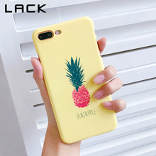 Buy LACK Cute Fruit Pineapple Phone Case iphone 8 Case Ultra Slim Hard Cases Fashion Letter Print Back Cover iphone8 8 Plus for $1.59 in AliExpress store
