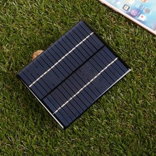2W 18V Polysilicon Solar Panel PV Plate Charge Battery Power Electronic Outdoor Travelling Powerbank DIY Module Charging Cell