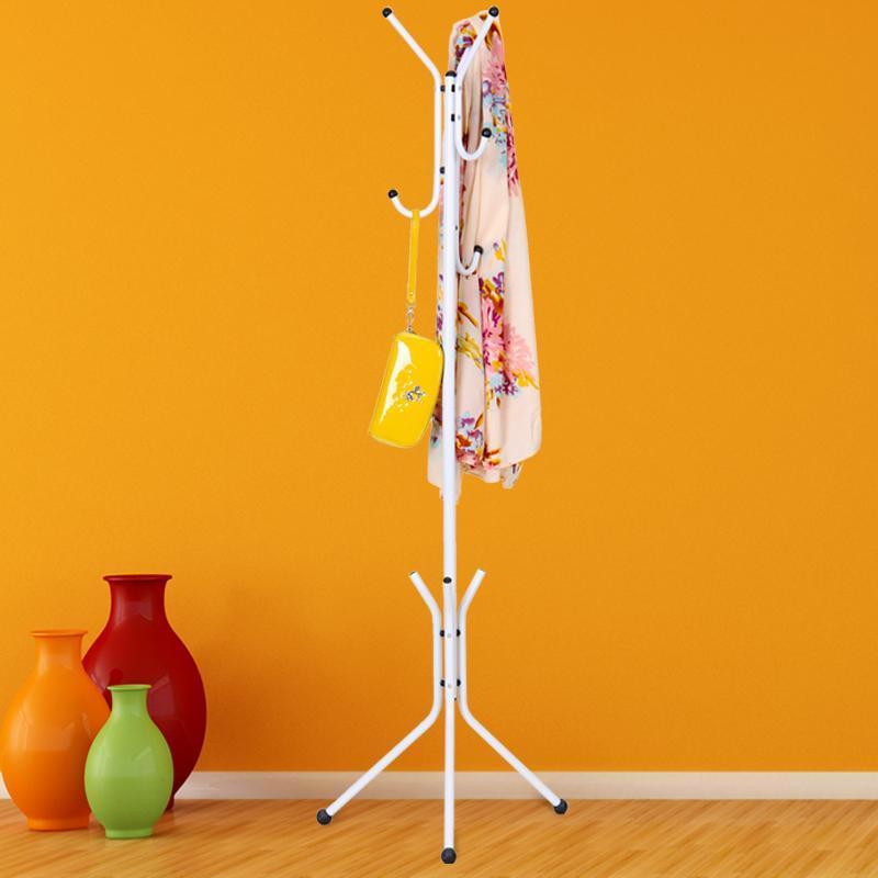 wrought iron coat rack hanger for children bedroom for hanging clothes shelves standing coat rack<br>