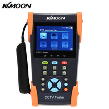 KKmoon 3.5in LCD CCTV Camera Tester Video Monitor PTZ/TDR/Cable Tester/Video Level Meter/IP Scan/Port Flashing HVT-2601T