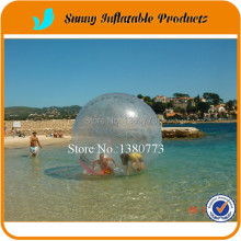 Free Shipping giant balls inflatable water walking ball soccer balls 2m Germany zipper people can go inside