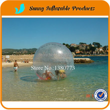 Free Shipping giant balls inflatable water walking ball soccer balls 2m Germany zipper people can go inside(China)