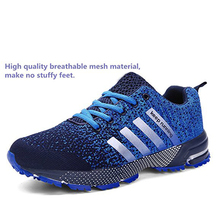Lovers men running shoes style jogging outdoors adults comfortable light weight sneakers for women air mesh breath