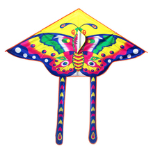 1pc Kite Cerf Volant Little Printing Butterfly Paraglider Triangular Kite Flying Outdoor Toys Line-kites For Children ingbaby