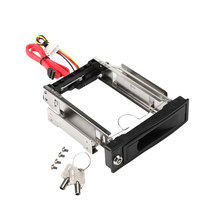 "Etmakit Tool-free Serial ATA HDD Rom 3.5"" SATA SSD/HDD Mobile Rack with Trayless Hot Swap Internal Hard Drive Disk Enclosure(China)"