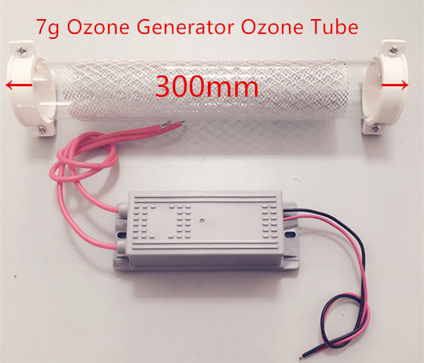 High Quality 7g Ozone Generator Ozone Tube 7g/h for DIY WATER Plant Purifier<br>