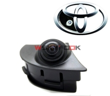 Night vision 600L CCD Car Front Camera View Parking Camera For 2012 2013 Toyota Highlander/2012 2015 Camry/RAV4/Corolla