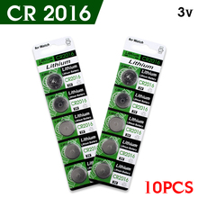 +Big Promotion+ 10pcs/Lot CR2016 3V Cell Battery Button Battery ,Coin Battery,cr 2016 lithium battery For Watch clock calculator