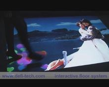 Low price Magic Interactive floor projection system,Use a rich set of embedded templates and visual effects