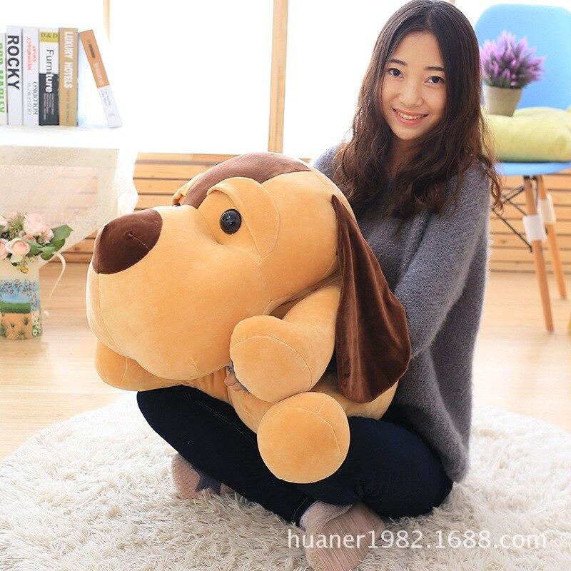 65cm Lovely lap dog plush toys Doll pillow big dog birthday gift <br>