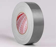 1 Roll Width 60mm x50M ,thickness 0.28mm,12 Colors Cloth Tape,strong stickiness,Wide-range in application,Silver Grey Color