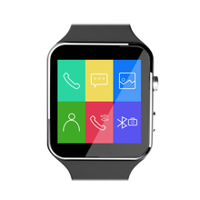 Bluetooth Smart Watch X6 Support SIM Card Telephone Watch Pedometer Wearable Devices For iPhone Android Watch With Camera