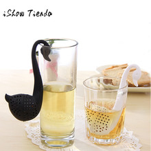 Tea Infuser Swan Loose Tea Strainer Herb Spice Filter Diffuser Kitchen Gadgets Coffee Filter Drinkware Accessories Life Partner