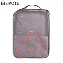 SIKOTE Double-Layer High-Capacity Waterproof Travel Bag Shoes Bag Shoes Package Cabin Luggage Packing Cubes