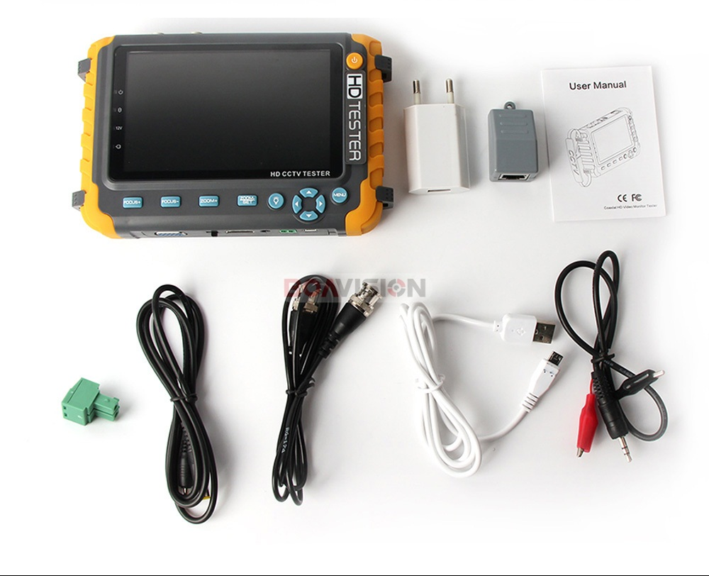12 1080P CCTV Camera Tester