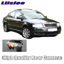 Liislee Car Camera For Skoda Superb Super B 2002~2008 High Quality Rear View Back Up Camera For Fans | CCD + RCA