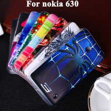Soft TPU Plastic Phone Case For nokia lumia 630 Telephone Housing For Nokia Lumia 630 N630 638 636 4.5 inch Cover Shell