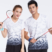 New badminton clothes, men / women clothes, sports, quick drying, sweat shirts, tennis shirts, summer wear